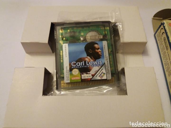 Videojuegos y Consolas: Game Boy Color Carl Lewis Athletics 2000 - Foto 2 - 173815444