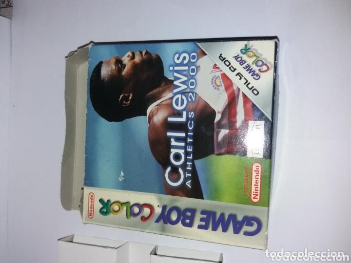 Videojuegos y Consolas: Game Boy Color Carl Lewis Athletics 2000 - Foto 3 - 173815444