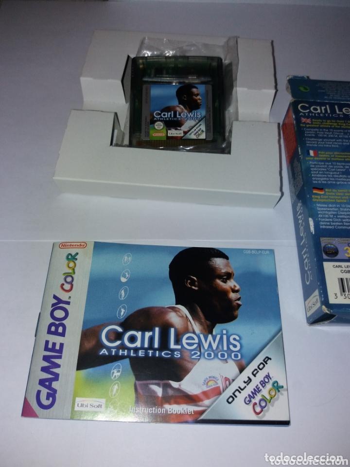 Videojuegos y Consolas: Game Boy Color Carl Lewis Athletics 2000 - Foto 6 - 173815444