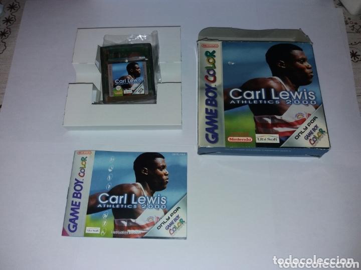 GAME BOY COLOR CARL LEWIS ATHLETICS 2000 (Juguetes - Videojuegos y Consolas - Nintendo - GameBoy Color)