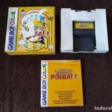 Videojuegos y Consolas: GAME BOY COLOR - POKEMON PINBALL. Lote 174446908