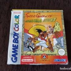 Videojuegos y Consolas: GAME BOY COLOR - SPEEDY GONZALEZ - AVENTURA AZTECA. Lote 174447044
