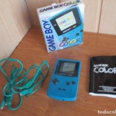 Videojuegos y Consolas: GAMEBOY: GAME BOY COLOR CON SU CAJA ORIGINAL (SIN JUEGOS). Lote 176560902
