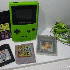 Videojuegos y Consolas: NINTENDO GAMEBOY GAME BOY COLOR, JUEGOS ASTERIX Y OBELIX, MUMMY RETURNS. Lote 171713622