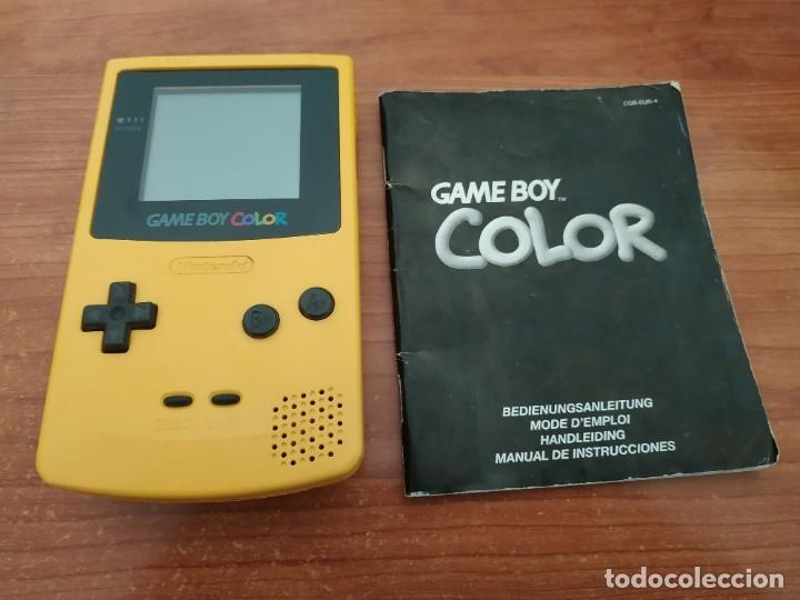 CONSOLA GAMEBOY COLOR CON INSTRUCCIONES (Juguetes - Videojuegos y Consolas - Nintendo - GameBoy Color)