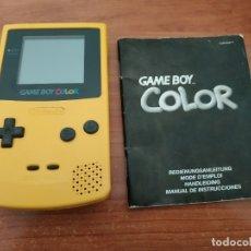 Videojuegos y Consolas: CONSOLA GAMEBOY COLOR CON INSTRUCCIONES. Lote 179899271