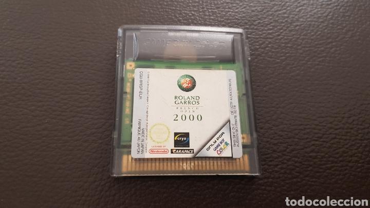 JUEGO GAMEBOY COLOR ROLAND GARROS FRENCH OPEN 2000 (Juguetes - Videojuegos y Consolas - Nintendo - GameBoy Color)