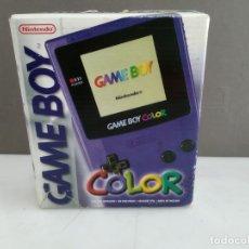 Videojuegos y Consolas: NINTENDO GAME BOY COLOR EN CAJA FUNCIONANDO. Lote 181337508