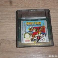 Videojuegos y Consolas: NINTENDO GAMEBOY COLOR JUEGO LUCKY LUKE DESPERADO TRAIN. Lote 182354346
