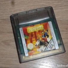 Videojuegos y Consolas: NINTENDO GAMEBOY COLOR JUEGO THE ROAD TO EL DORADO. Lote 182354448