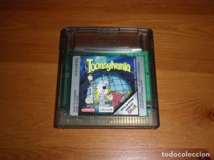 NINTENDO GAMEBOY COLOR JUEGO TOONSYLVANIA (Juguetes - Videojuegos y Consolas - Nintendo - GameBoy Color)