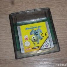 Videojuegos y Consolas: NINTENDO GAMEBOY COLOR JUEGO MONSTERS INC. Lote 182354621