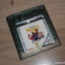 Videojuegos y Consolas: NINTENDO GAMEBOY COLOR JUEGO MUPPETS. Lote 182356257
