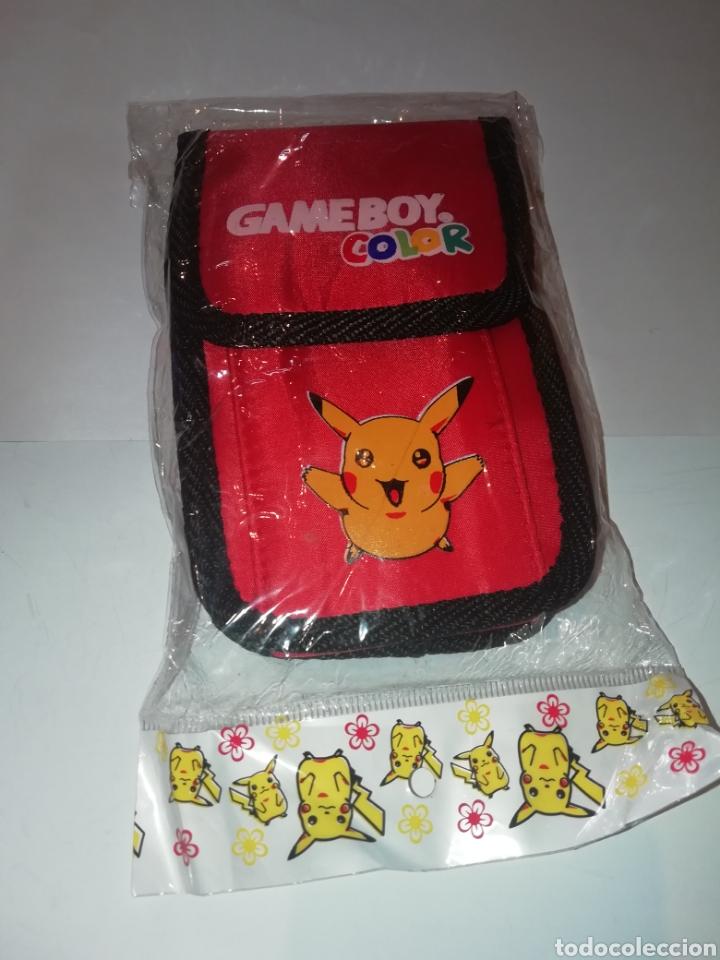 FUNDA PARA GAMEBOY COLOR DE POKEMON PIKACHU (Juguetes - Videojuegos y Consolas - Nintendo - GameBoy Color)