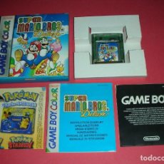 Videojuegos y Consolas: GAME BOY COLOR SUPER MARIO BROS DELUXE . ABSOLUTAMENTE NUEVO . ORIGINAL . Lote 183385060