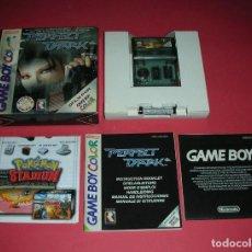 Videojuegos y Consolas: GAME BOY COLOR PERFECT DARK . ABSOLUTAMENTE NUEVO . ORIGINAL , NUNCA VISIONADO. Lote 183387002