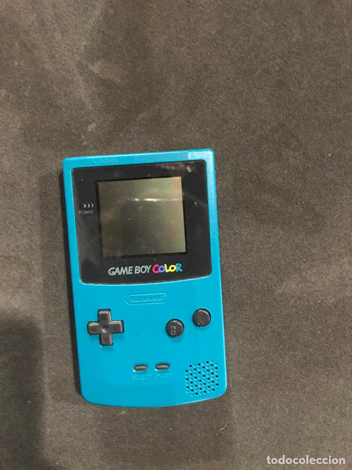 NINTENDO GAME BOY COLOR DE 1998 (Juguetes - Videojuegos y Consolas - Nintendo - GameBoy Color)