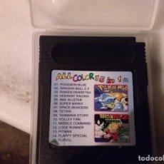 Videojuegos y Consolas: JUEGO ALL COLOR 15 IN 1 PARA GAME BOY COLOR. Lote 183716482