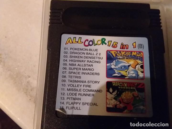 Videojuegos y Consolas: Juego ALL COLOR 15 IN 1 para game boy color - Foto 2 - 183716482