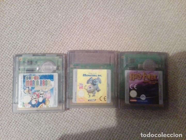 LOTE DE 3 JUEGOS NINTENDO GAMEBOY COLOR (Juguetes - Videojuegos y Consolas - Nintendo - GameBoy Color)