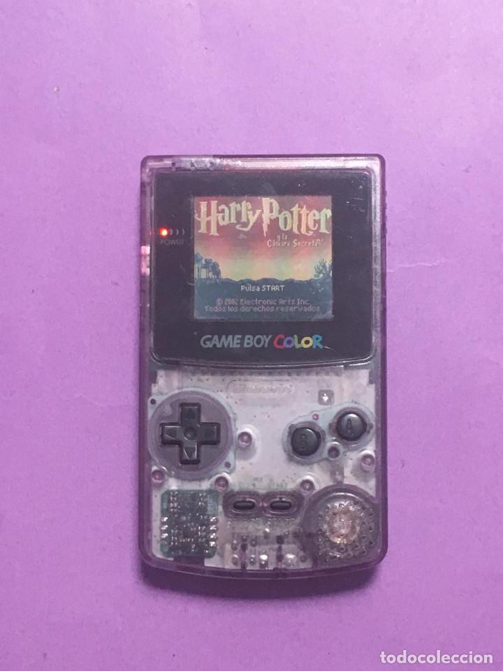 GAME BOY COLOR - BIEN DE SONIDO Y MEGAPIXELES PERFECTOS - HAY QUE REPARAR EL BOTON A Y B (Juguetes - Videojuegos y Consolas - Nintendo - GameBoy Color)