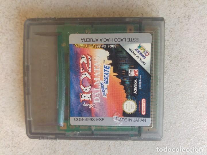 102 DALMATAS GAMEBOY NINTENDO (Juguetes - Videojuegos y Consolas - Nintendo - GameBoy Color)