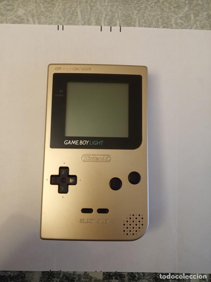 EXPECTACULAR LOTE GAMEBOY LIGHT EDICION JAPONESA (Juguetes - Videojuegos y Consolas - Nintendo - GameBoy Color)