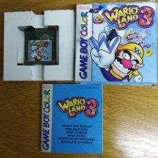 Videojuegos y Consolas: JUEGO WARIO LAND 3 GAME BOY. Lote 186112380