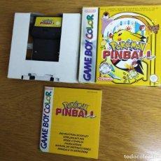 Videojuegos y Consolas: JUEGO POKÉMON PINBALL GAME BOY COLOR. Lote 186112448