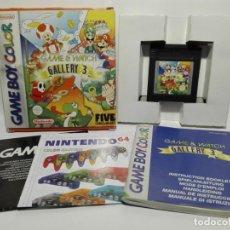 Videojuegos y Consolas: GAME & WATCH GALLERY 3 NINTENDO GAME BOY COLOR. Lote 190331197