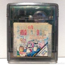 Videojuegos y Consolas: SUPER MARIO BROS. DELUXE NINTENDO GAME BOY COLOR. Lote 222619496