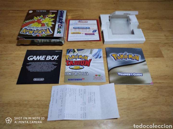 CAJA POKEMON ORO NINTENDO GAME BOY (Juguetes - Videojuegos y Consolas - Nintendo - GameBoy Color)
