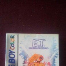 Videojuegos y Consolas: E.T. EL EXTRATERRESTRE - VERSION USA - GAME BOY COLOR - A ESTRENAR - !!RARO!!. Lote 190977212