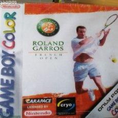 Videojuegos y Consolas: JUEGO ROLAND GARROS PARA NINTENDO GAMEBOY COLOR. Lote 191183795