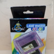 Videogiochi e Consoli: NINTENDO LUPA LIGHT MASTER COLOR (GAME BOY COLOR) AMARILLA. Lote 191193370