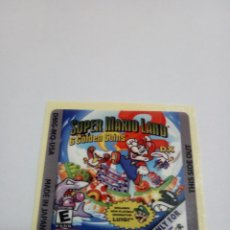 Videogiochi e Consoli: ETIQUETA PEGATINA SUPER MARIO LAND 2 DX NINTENDO GAME BOY GAMEBOY COLOR. Lote 191348076