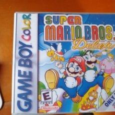 Videojuegos y Consolas: JUEGO SUPER MARIO WORLD DELUXE PARA NINTENDO GAMEBOY COLOR. Lote 191437031