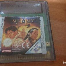 Videojuegos y Consolas: MUMMY RETURNS GAMEBOY COLOR CARTUCHO. Lote 192184198