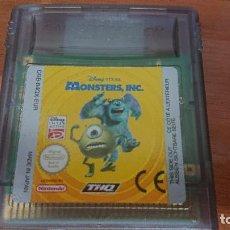 Videojuegos y Consolas: MONSTERS, INC GAMEBOY COLOR CARTUCHO. Lote 192184815