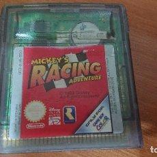 Videojuegos y Consolas: MICKEY'S RACING ADVENTURE GAME BOY COLOR CARTUCHO. Lote 192184955