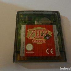 Videojuegos y Consolas: JUEGO GAME BOY COLOR ZELDA ORACLE OF SEASONS. . Lote 192248972
