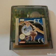 Videojuegos y Consolas: JUEGO GAME BOY COLOR E.T. . Lote 192249366