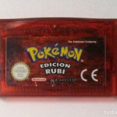 Videojuegos y Consolas: POKEMON RUBÍ - NINTENDO GAME BOY COLOR. Lote 194510386