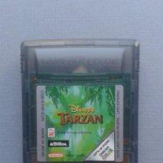 Videojuegos y Consolas: JUEGO GAMEBOY COLOR GBC DISNEY TARZAN SOLO CARTUCHO PAL R9998. Lote 194700691