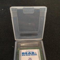 Videojuegos y Consolas: GAMEBOY COLOR, BEAR IN THE BIG BLUE HOUSE. Lote 194704388