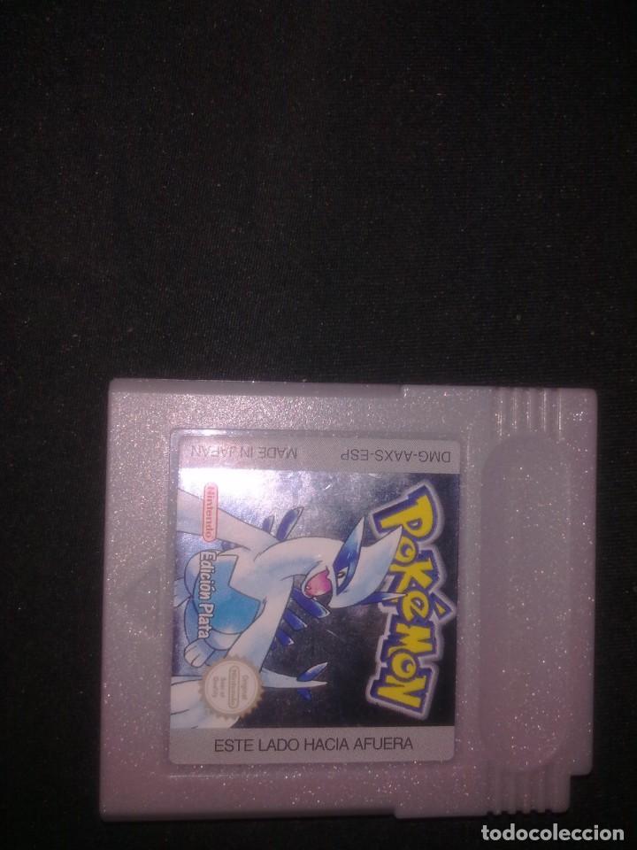 POKEMON VERSION PLATA (Juguetes - Videojuegos y Consolas - Nintendo - GameBoy Color)