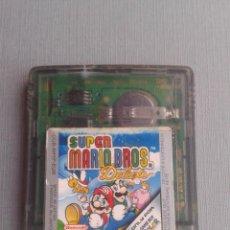 Videojuegos y Consolas: NINTENDO GAME BOY COLOR GBC SUPER MARIO BROS. DELUXE SOLO CARTUCHO PAL R10017. Lote 194765117