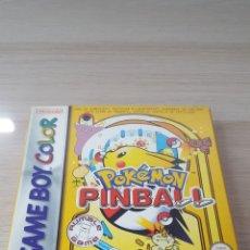 Videojuegos y Consolas: POKEMON PINBALL GAME BOY COLOR. Lote 195082612