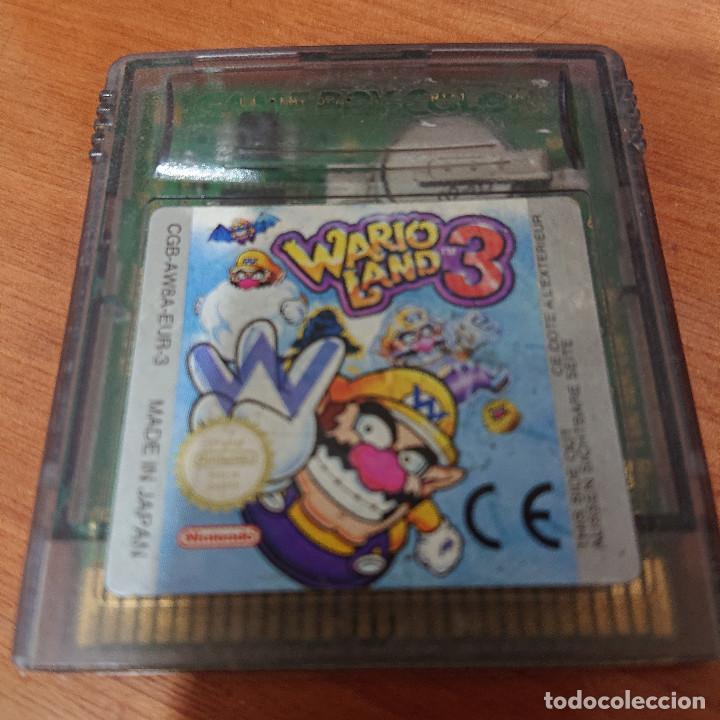 WARIO LAND 3 GAME BOY COLOR CARTUCHO (Juguetes - Videojuegos y Consolas - Nintendo - GameBoy Color)