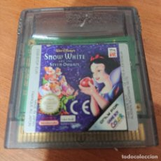 Videojuegos y Consolas: SNOW WHITE GAME BOY COLOR CARTUCHO. Lote 195333562